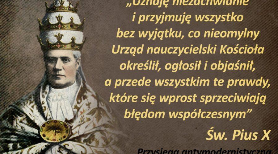 Pius X przysięga